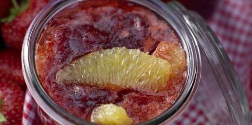 Клубничное варенье: Варенье из клубники и апельсинов
