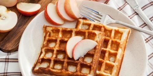 Яблочные вафли, рецепт