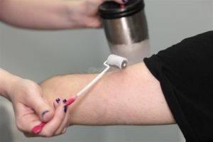 Псориатический артрит лечится также методом криотерапии