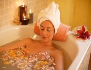 Целебные ванны против хондроза