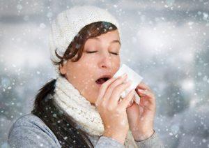 Причины простудных заболеваний