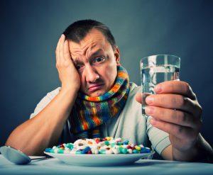 Антибиотики и простуда
