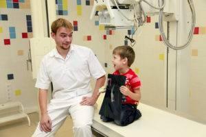 Рентгенография ребенку
