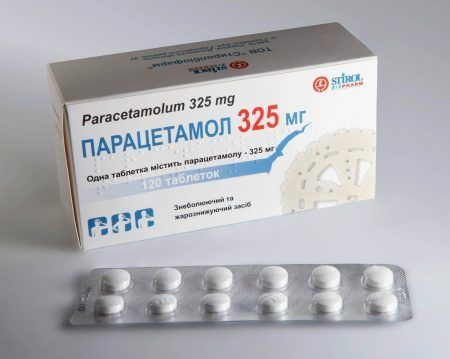 Парацетамол при головной боли