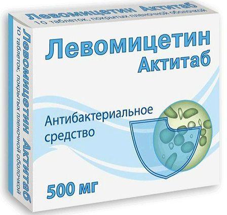 Левомицетин от цистита