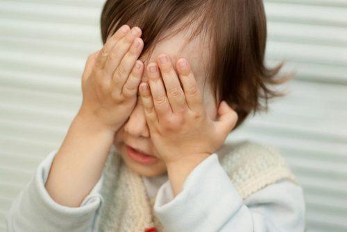 Блефароспазм у ребенка