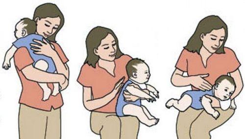 Причины икоты, у новорожденных