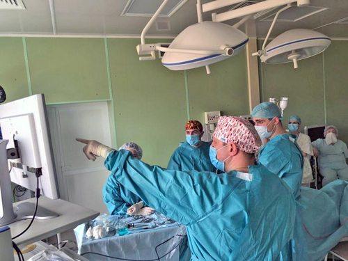 Операция удаление опухоли через нос