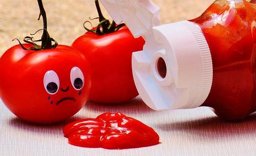 Замените покупной кетчуп на домашний