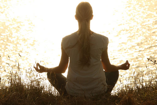 Весам рекомендовано заняться медитацией на природе