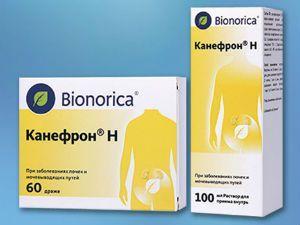 Канефрон – растительный препарат для лечения пиелонефрита