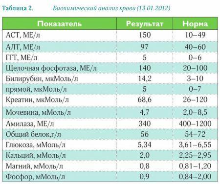 Почечные показатели в анализе крови