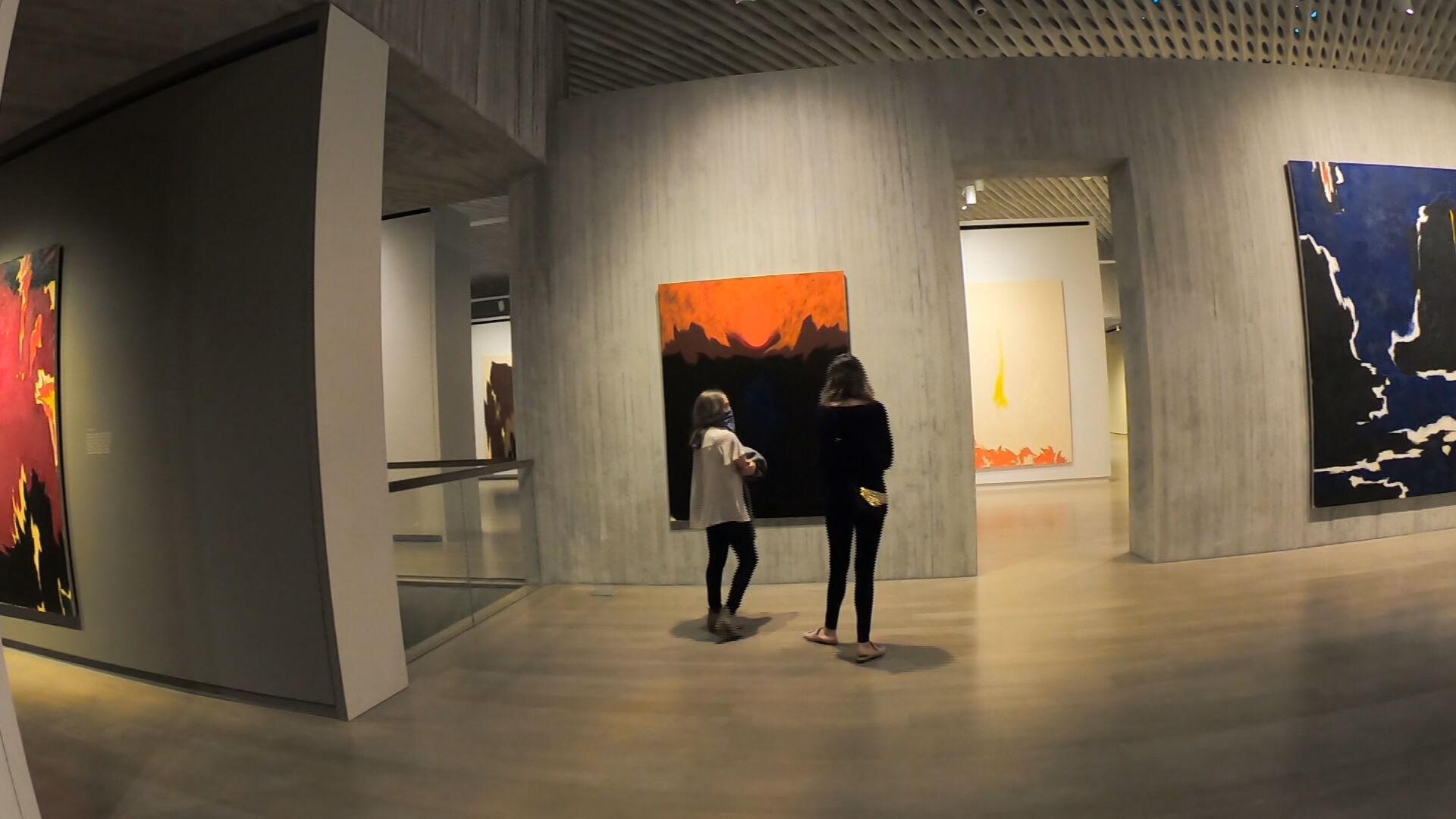Музей Клайффорда Стилла приказано закрыть под красным уровнем